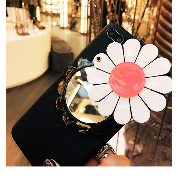 Flower Mirror Case for iPhone