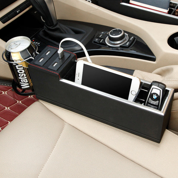 USB Charging Car Organizer - Anti-scratch