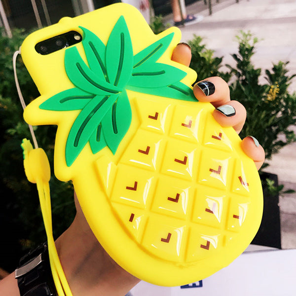Cute Pineapple Case for  iPhone