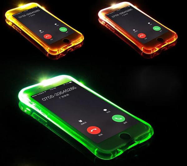iPhone Call LED Flash Case - One Color