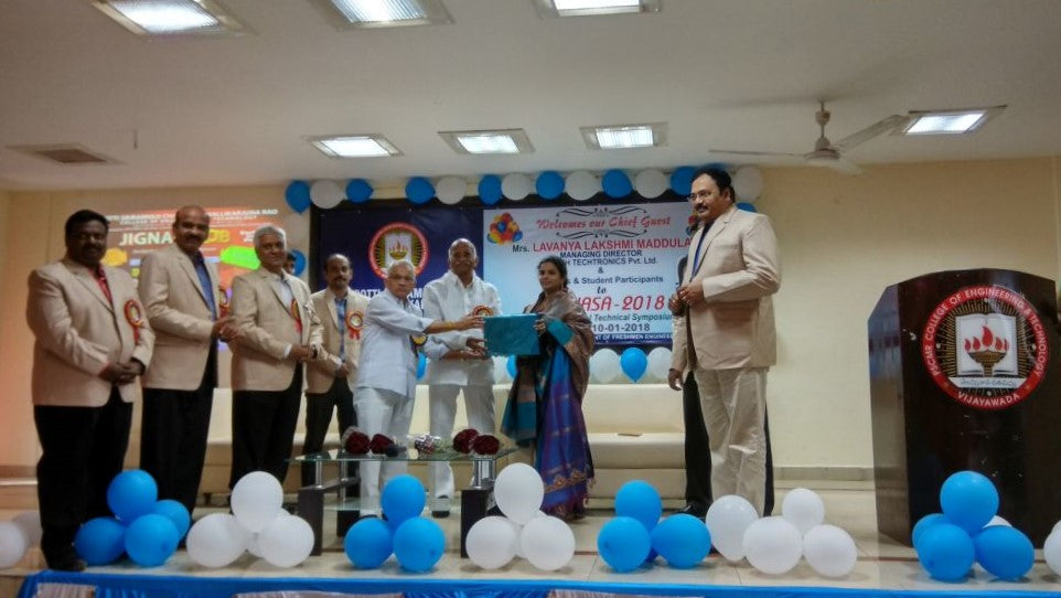 Smt. M.Lavanya Lakshmi Inaugurates A National Level Technical Symposium