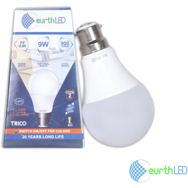 Trico 9w Multicolor LED Bulb
