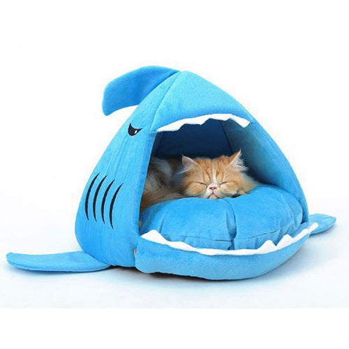 Abena Blue Fish Pet Beds For Small Dog and Cat