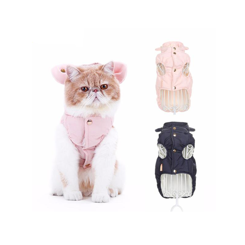 Fashionable Warm Cotton-padded Vest For Cats and Dogs
