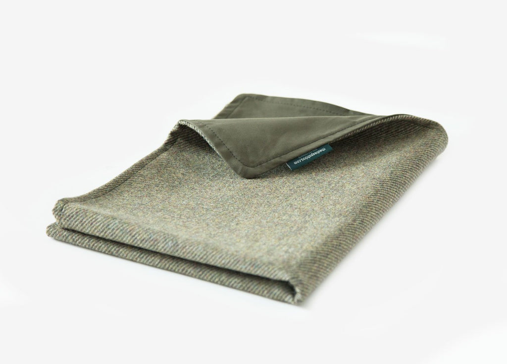 Tweed & Waxed-Cotton Pet Blanket Pet Throw taylormitchell.ie