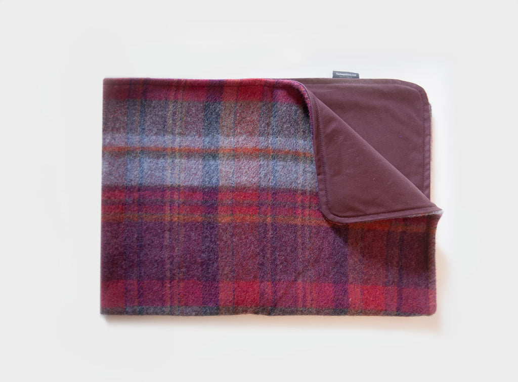 Wool & Waxed-Cotton Pet Blanket