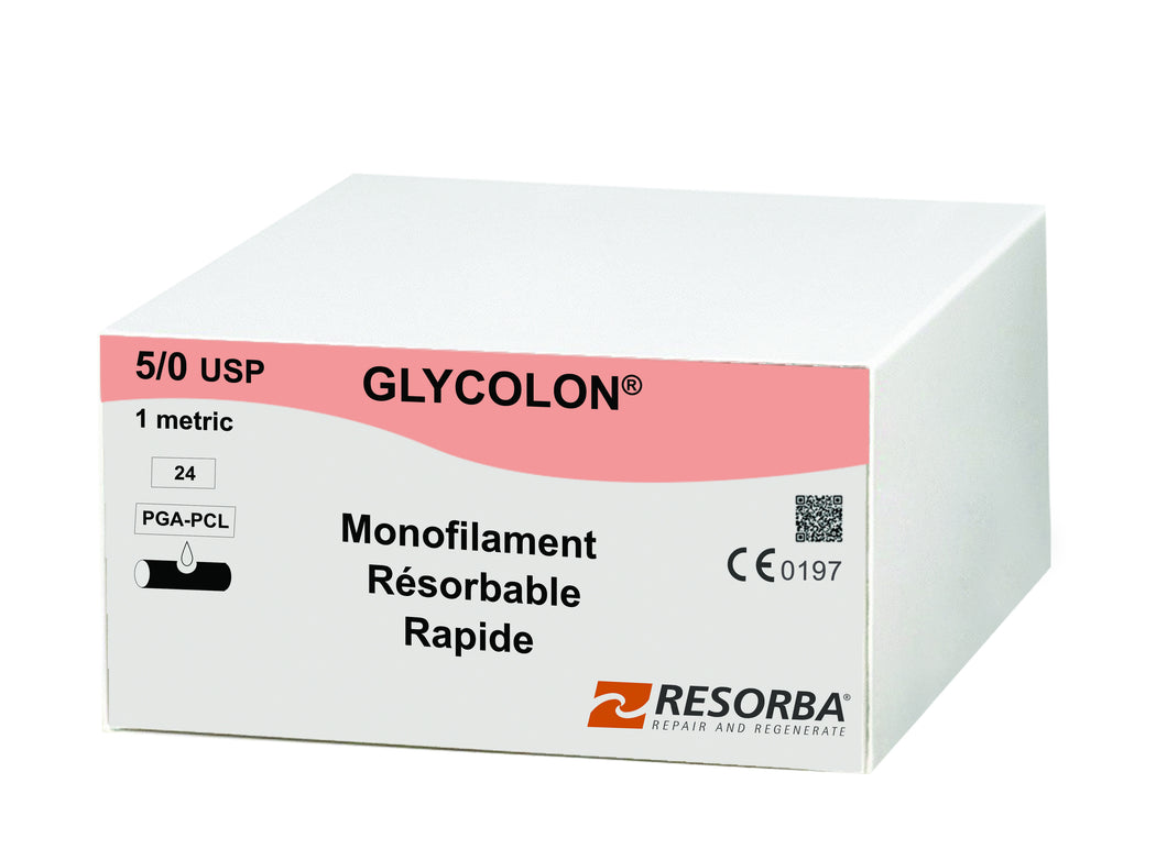 Glycolon 5/0, DS 18, 70cm, Incolore PB41410
