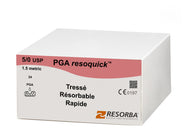 PGA resoquick  5/0, DS 18, 45cm, Incolore PRN31405