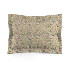 Vanilla Cream Turbulence Microfiber Pillow Sham