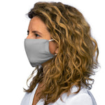 Athletic Heather Snug-Fit Polyester Face Mask