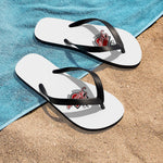 Awesome Unisex White Flip-Flops