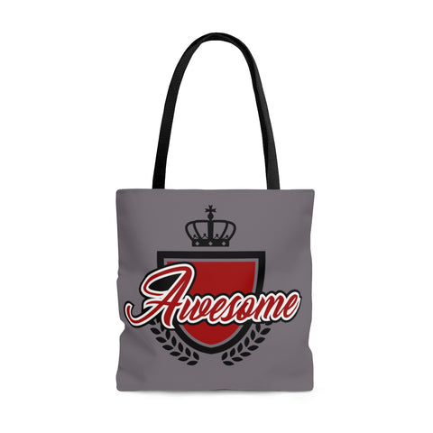 Awesome Gray Tote Bag