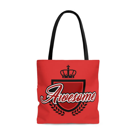 Awesome Red Tote Bag