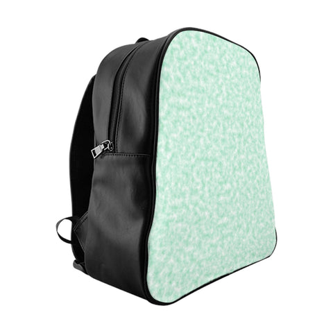 Seafoam Green and White Clouds Backpack