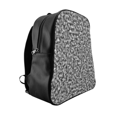 White and Black Clouds Backpack