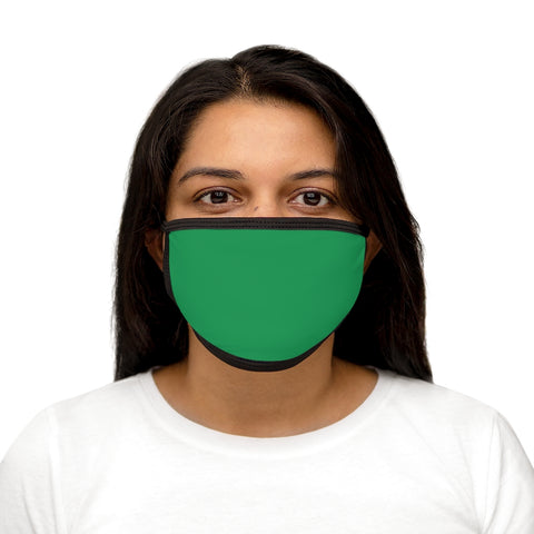 Solid KG Mixed-Fabric Face Mask