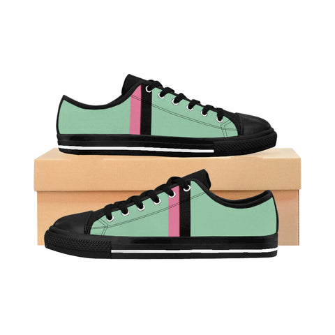 Mint VPB Stripes Women's Sneakers