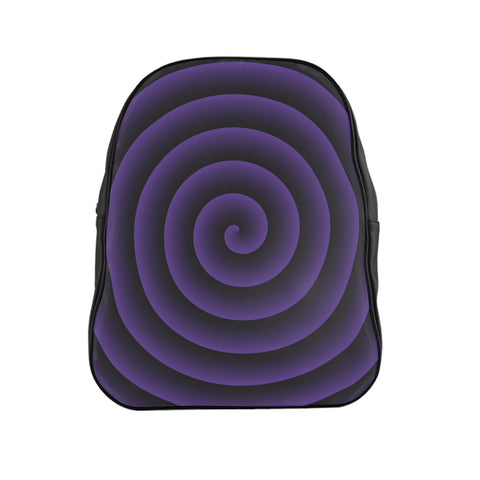 Purple Spiral Backpack