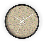 Vanilla Cream Turbulence Wall Clock