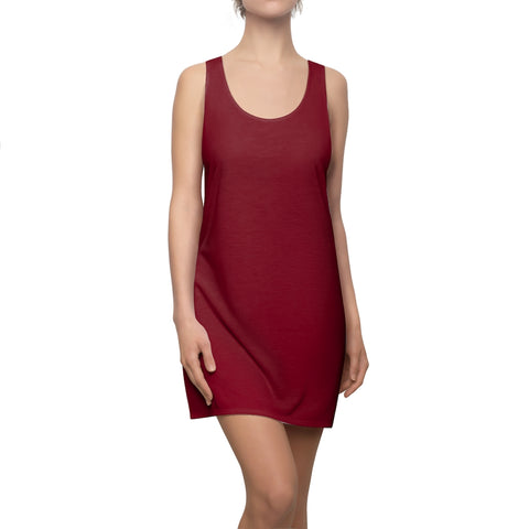 Burgundy Racerback Dress