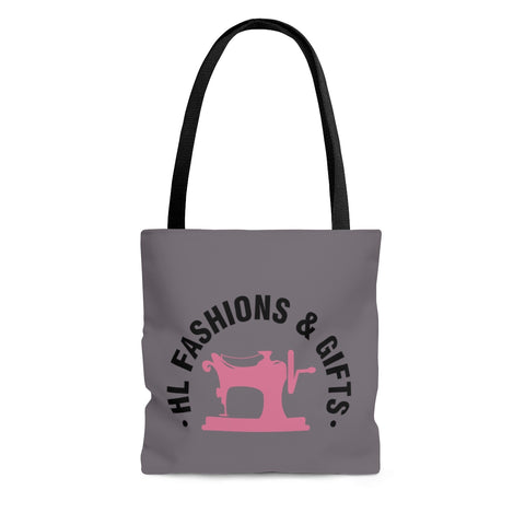 Gray HLF Tote Bag
