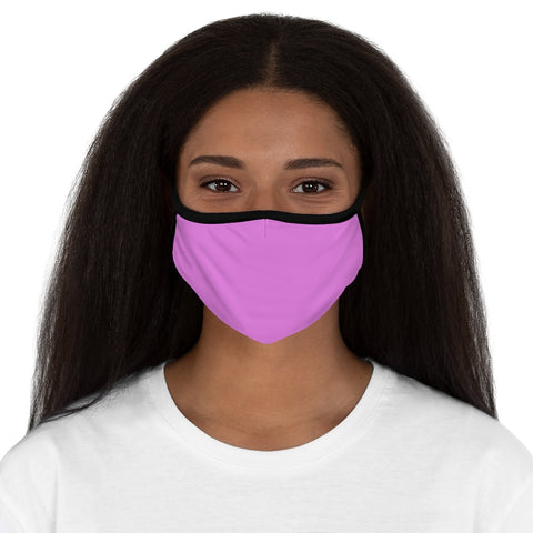 PW-Pink Fitted Polyester Face Mask