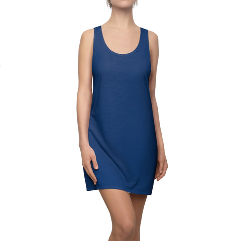 Solid Royal Racerback Dress