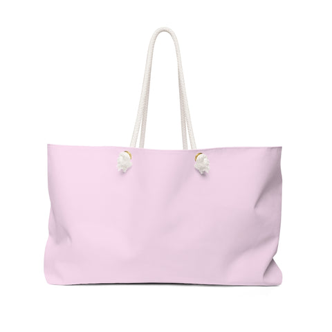 Light Magenta-Pink Weekender Bag