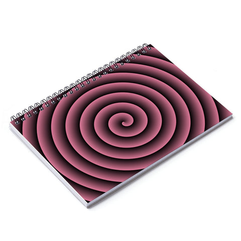 HLF Pink Spiral Notebook - Ruled Line