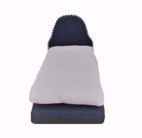 Dark Blue Doll Bed for 11 1/2 inch dolls and Doll Mattress
