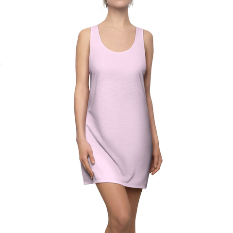Light Magenta-Pink Racerback Dress