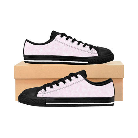 Light Magenta-Pink Clouds Women's Sneakers