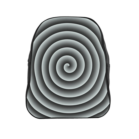 Light Blue Spiral Backpack