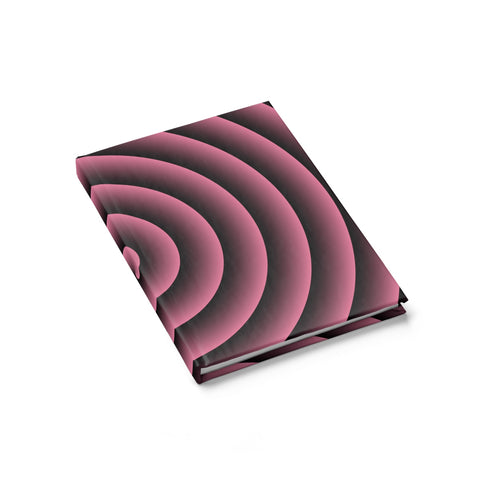 HLF Spiral Pink Journal - Ruled Line