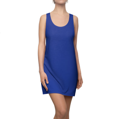 True Royal Racerback Dress