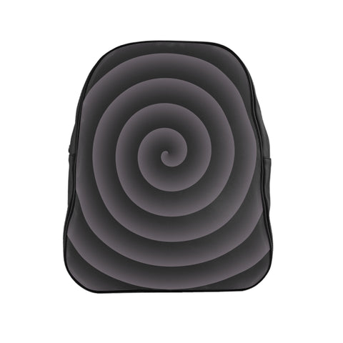 Gray Spiral Backpack