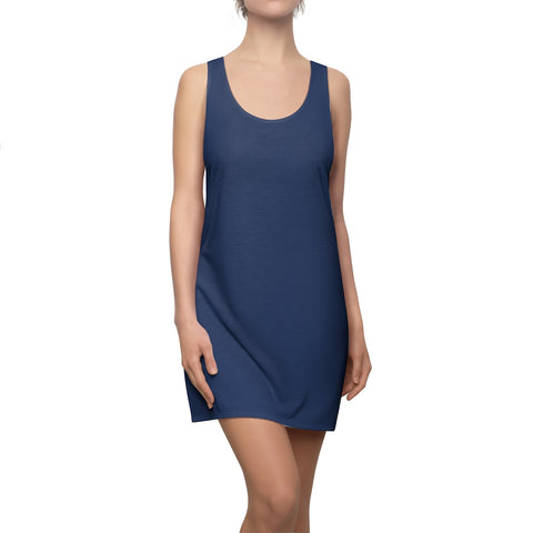 True Navy Racerback Dress