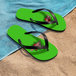 Awesome Green Unisex Flip-Flops