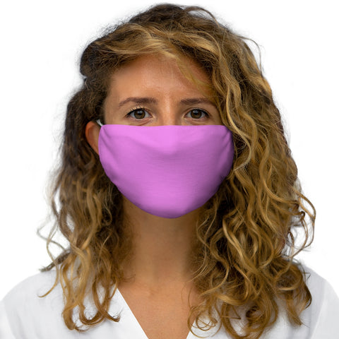 PW-Pink Snug-Fit Polyester Face Mask
