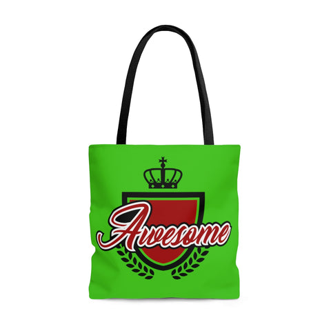 Awesome Green Tote Bag