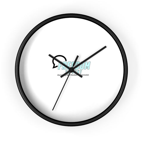 Freedom to Vent Wall Clock