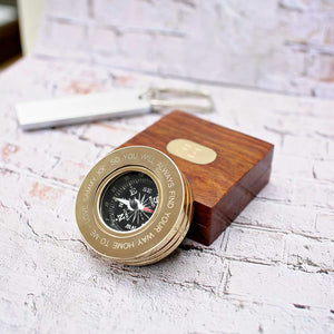 Engraved Compass Ideas