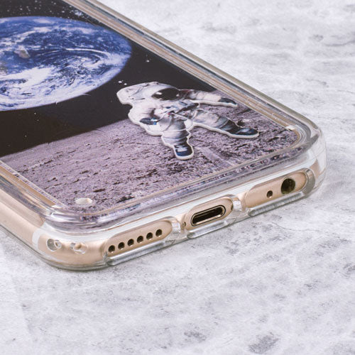 Floating Astronaut iPhone Case