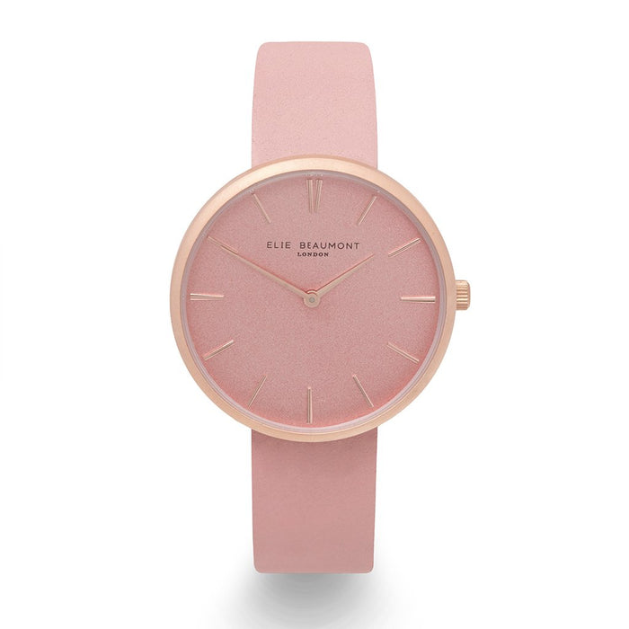 Own Handwriting Elie Beaumont Hampstead Pink Ladies Watch