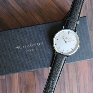 Mr Beaumont of London Men's Vegan Watch + Engraving