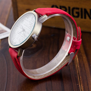 Denim Strap Casual Watch