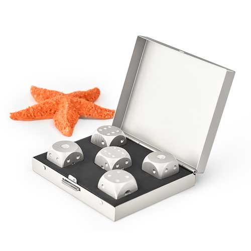 Luxury Aluminium Dice Set
