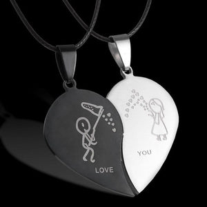 Lovers Pendant Necklaces UK
