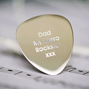 Personalised Guitar Pick - Wear We Met
