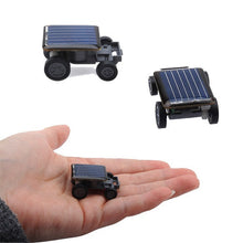 Solar powered kids toy